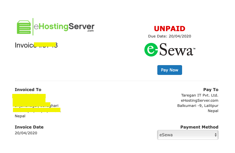 How can I buy domain in Nepal?